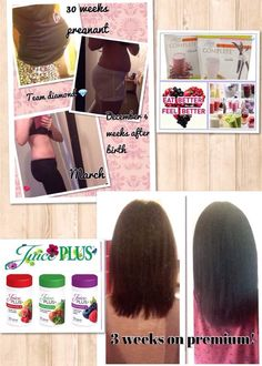 Juice Plus Is Great For Losing Baby Weight Combining The Shakes And Loss Plan