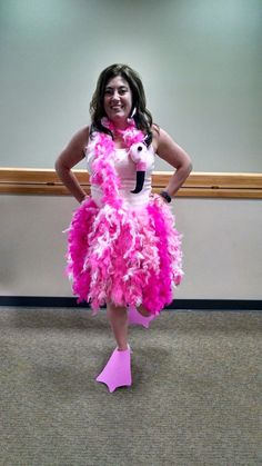 Halloween or Jimmy Buffett this was my 2016 outfit. Oh yeah and I made this! Flamingo Halloween Costume, Halloween Fun, Halloween Costumes, Animal Costumes, Adult Costumes, Costumes For Women, Flamingo Birthday, 8th Birthday, Birthday Ideas