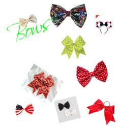 """""""Bows!- I love bows!"""" by dancergirl414 on Polyvore"""