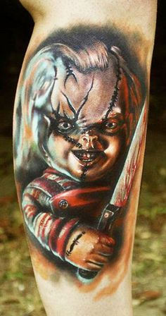 Tattoo Artist - George Mavridis  - horror tattoo