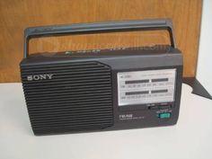 Sony FM/AM 2Band Radio Model IFC-24