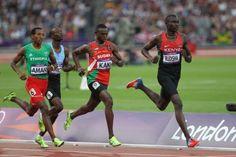 David Rudisha & Training for the 800 Meter Runners