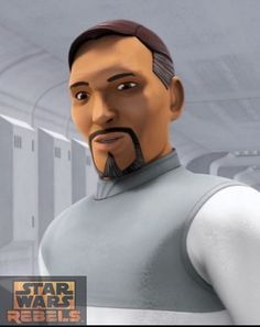 Senador Bail Prestor Organa / Phil LaMarr / Star Wars SW Cromos / Rebels