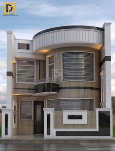 Over the most recent years house designs have changed quite. Most new home owners like to opt for a more modern house designs, rather than traditional. Duplex House Plans, Garage House Plans, Bungalow House Design, Small House Plans, New Modern House, Modern House Design, Front Wall Design, House Architecture Styles, Dream House Exterior