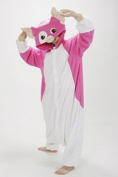 3cf6ed05dcf9 Pink Gizmo Kigurumi Cute Pants, Animal Costumes, Pjs, Winter Clothes,  Winter Outfits