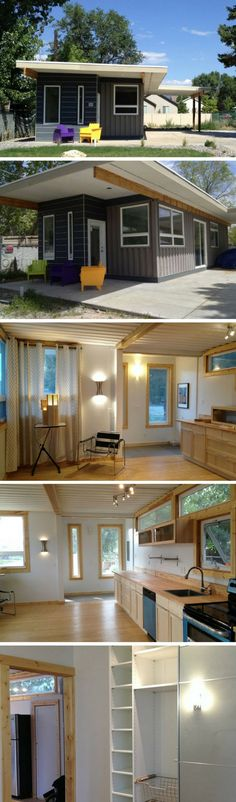 Dwell Boxes container house