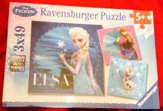 Golden Discs – Ravenburger Disney's Frozen Puzzle (Elsa) €9.99 Cork City, Golden Discs, Ravensburger Puzzle, Gifts Under 10, Elsa, Disney Frozen, Kids Gifts, Children, Kids