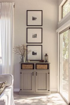 Love this for bedroom And living room -- keep it simple and neutral