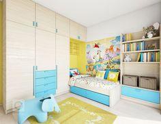 Návrh interiéru aexteriéru rodinného domu. Řešené místnosti: zádveří, chodba, d dvě koupelny na1NP, schodiště, kuchyně, obývací pokoj, dětská herna…