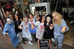 Freaky Friday in Weymouth town centre on October Steven May Hair Design. Street 2015, May Designs, Hair And Nails, Graham, Schools, 30th, Centre, October, Friday