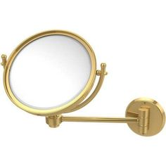 8 inch Wall-Mounted Make-Up Mirror, 2x Magnification