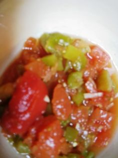 """Homemade Rotel recipe for canning -- I hope to have enough tomatoes and peppers to make this (not sure about canning, but I want to try).  We make """"homemade restaurant style"""" salsa with Rotel tomatoes frequently, but only can find Rotel tomatoes in one store.  Hopefully, this would give me a stash to use year-round."""