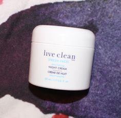 Live Clean Nourishing Night Cream