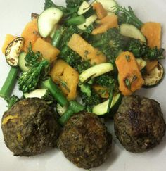 Paleo Liver, Beef and Lamb Meat Balls