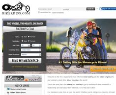 Speaking of http://www.Bikerkiss.com, most single bikers may know this biker dating site, biker kiss is the first online dating site since 2001, it's also the best choice for single bikers. We selected bikerkiss as the top one among top 5 online biker dating sites due to their features, custom service, chance to get a date and activity of online http://www.bikerdatingsites.biz/biker-kiss.html