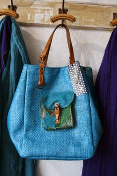 SAC POMPONETTE Plus Purses And Handbags, Leather Handbags, Carpet Bag, Tapestry Bag, Boho Bags, Jute Bags, Denim Bag, Summer Bags, Shopper