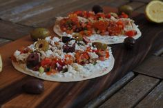 Slow Cooked Greek Chicken Tacos
