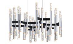 Champagne Sonata 24-Arm LED Pendant(2278.54) Sonneman awayoflight