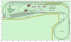 N scale track plan, Santa Fe - Model Railroader Magazine - Model Railroading, Model Trains, Reviews, Track Plans, and Forums