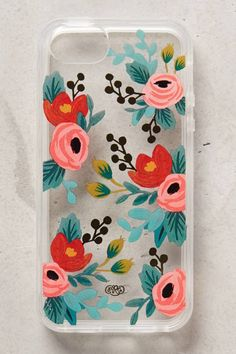 Perfect for my pink iPhone Rifle Paper Co. Lucere Floral iPhone 5 Case {cute!}