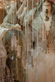 Rosemary Cathcart Antique Lace and Vintage Fashion: Antique Lace Cards & Mobiles For Sale