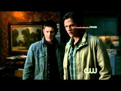 """Sam & Dean """"acting"""" in Supernatural season 6 episode 15 - The French Mistake"""
