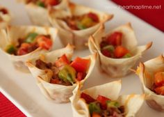 Learn how to make these simple Mexican appetizer that are a crowd pleaser!