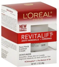 L'Oreal Revitalift Face and Neck Anti-Wrinkle and Firming Moisturizer Day Cream 1.70 oz (Pack of 12) *** Learn more by visiting the image link.