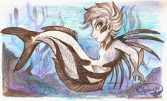 Rooster Fish Mermaid by sharpie91 on deviantART