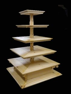 1000 images about wood crafts on pinterest farm house for Cupcake stand plans