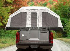 QuickSilver Soft-Side Truck Tent Camper Overview   Livin' Lite RV
