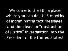 FBI needs to be Purged of all the Obama Treasonous Plants Lock Them Up