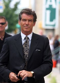Pierce Brosnan ~~~Lost his daughter, June 2013 Gorgeous Men, Beautiful People, James Bond Style, Pierce Brosnan, Cartier Tank, Irish Men, Celebs, Celebrities, Hollywood Stars