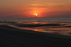 Amazing View of Sunrise Over Myrtle Beach