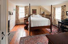 Nantucket cottage bedroom