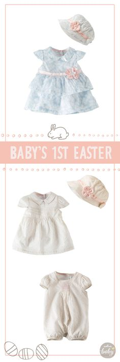Sweet little outfits from Hallmark Baby for Easter :)