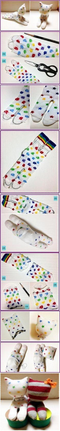 Sock Doll Tutorial: