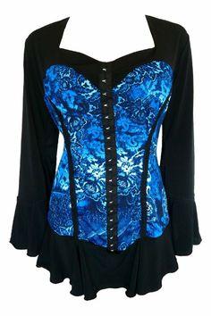 Amazon.com: Dare to Wear Women's Victorian Gothic Corsetta Corset Top: Clothing