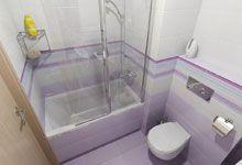 Paneláková koupelna I- levnější varianta