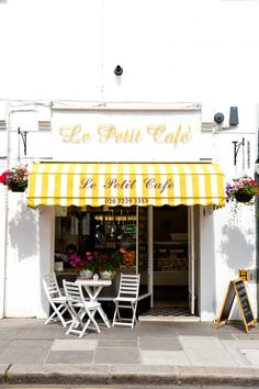 Le Petit Cafe, Notting Hill, London via @annawithlove