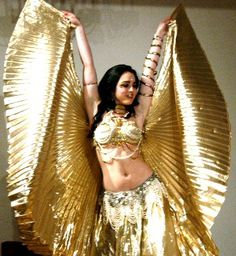 """shiny gold """"wings"""""""
