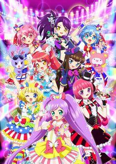 Revelada la historia y nuevos personajes de la segunda temporada del Anime PriPara.