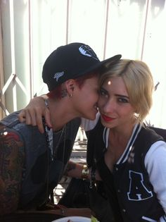 Ruby Rose & Jess Origliasso - have been posting romantic images to social media. Jess confirmed on Australia's Nova FM that she and Ruby Rose were officially together. (Nov 2016) @ http://www.curvemag.com/News/Ruby-Rose-And-The-Veronicas-Jess-Origliasso-Back-Together-1576/
