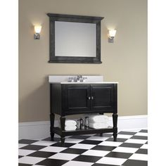 "Fallbrook 36"" Single Sink Vanity by Today's Bath $799.99 including sink"