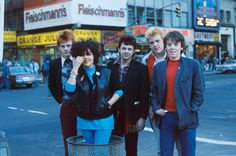 X-Ray Spex on Times Square, 1978, Photo by: Spex manager Falcon Stuart