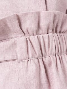 Sewing hack idea in 2020 Linen Pants Outfit, Sewing Elastic, Fashion Details, Fashion Design, Pants For Women, Clothes For Women, Mode Hijab, Sewing Techniques, Sewing Hacks