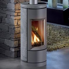 Bari DV Gas Fired Stove by HearthStone on HomePortfolio