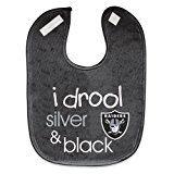 NFL Oakland Raiders WCRA1963414 All Pro Baby Bib