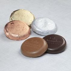 Milk chocolate, dark chocolate, peppermint and more! Only Lake Champlain Chocolates has the best selection of foil-wrapped gourmet chocolate coins and gelt. Bulk Chocolate, Chocolate Photos, Organic Dark Chocolate, Chocolate Coins, To Spoil, Spoil Yourself, Wedding Party Favors, Peppermint, Cocoa