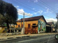 casa de antiga estação ferroviária em Ribeirão pires